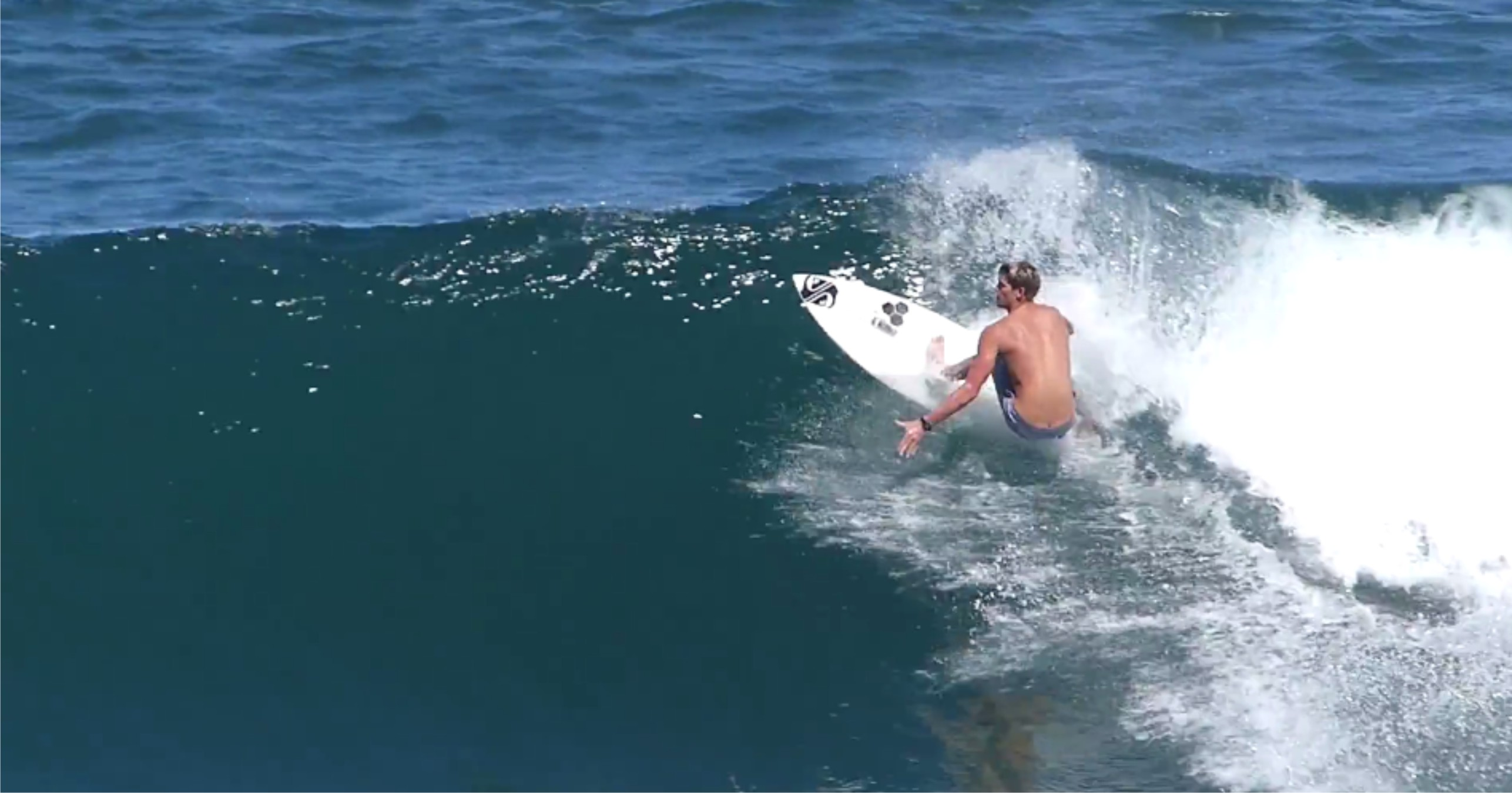 Watch the awesome Slade Prestwich Just Surfing video here
