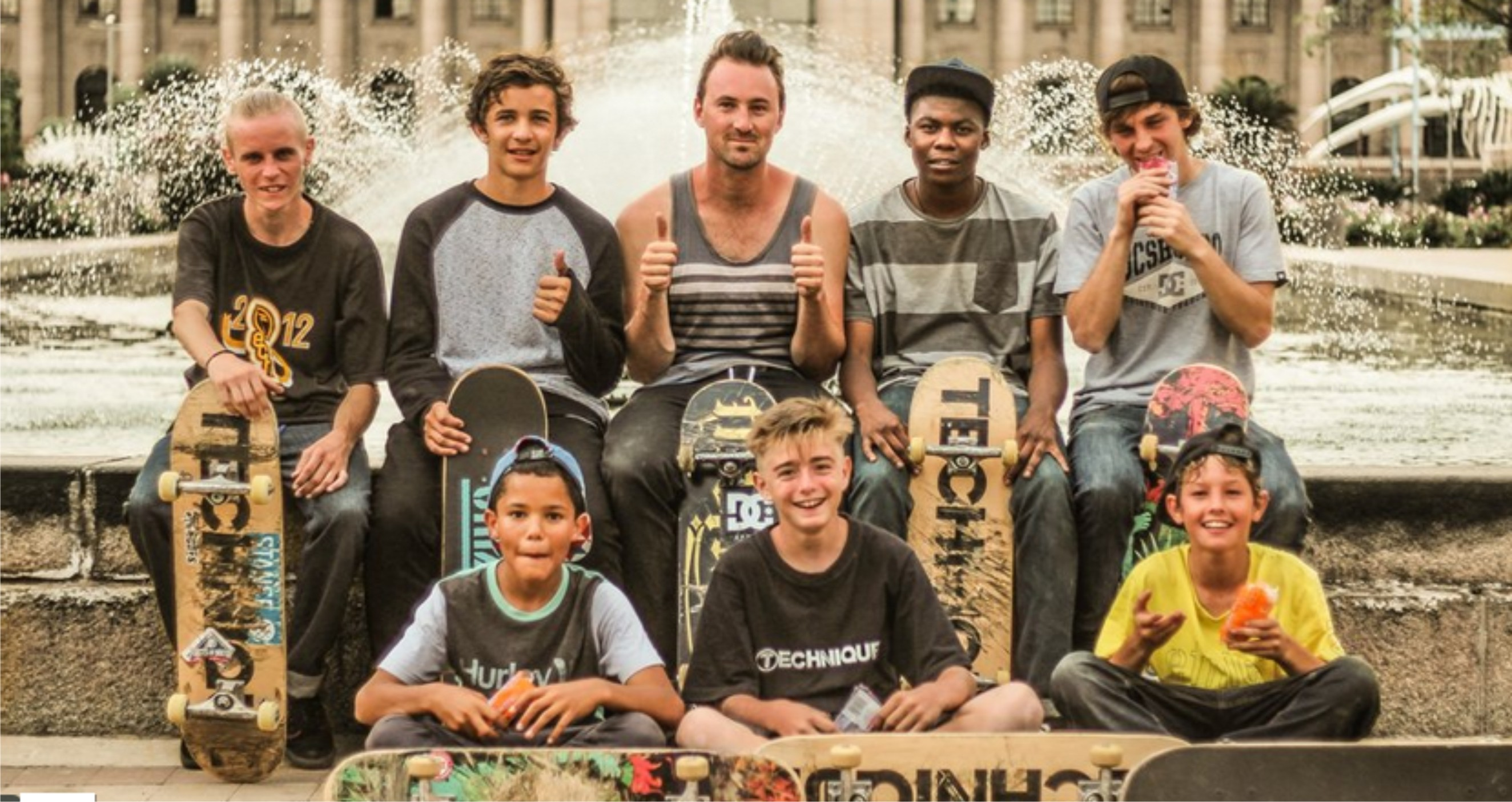 Watch some top class Skateboarding in the Technique Skateboards DPD Webisode 4 Gauteng Underdogs