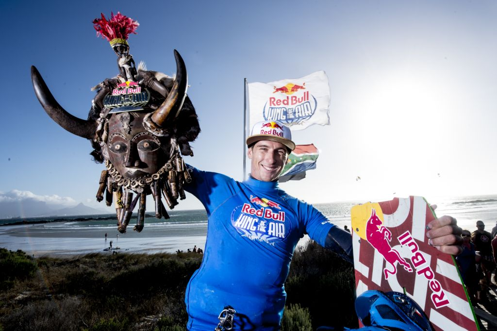 Aaron Hadlow croned the Red Bull King of the Air 2015