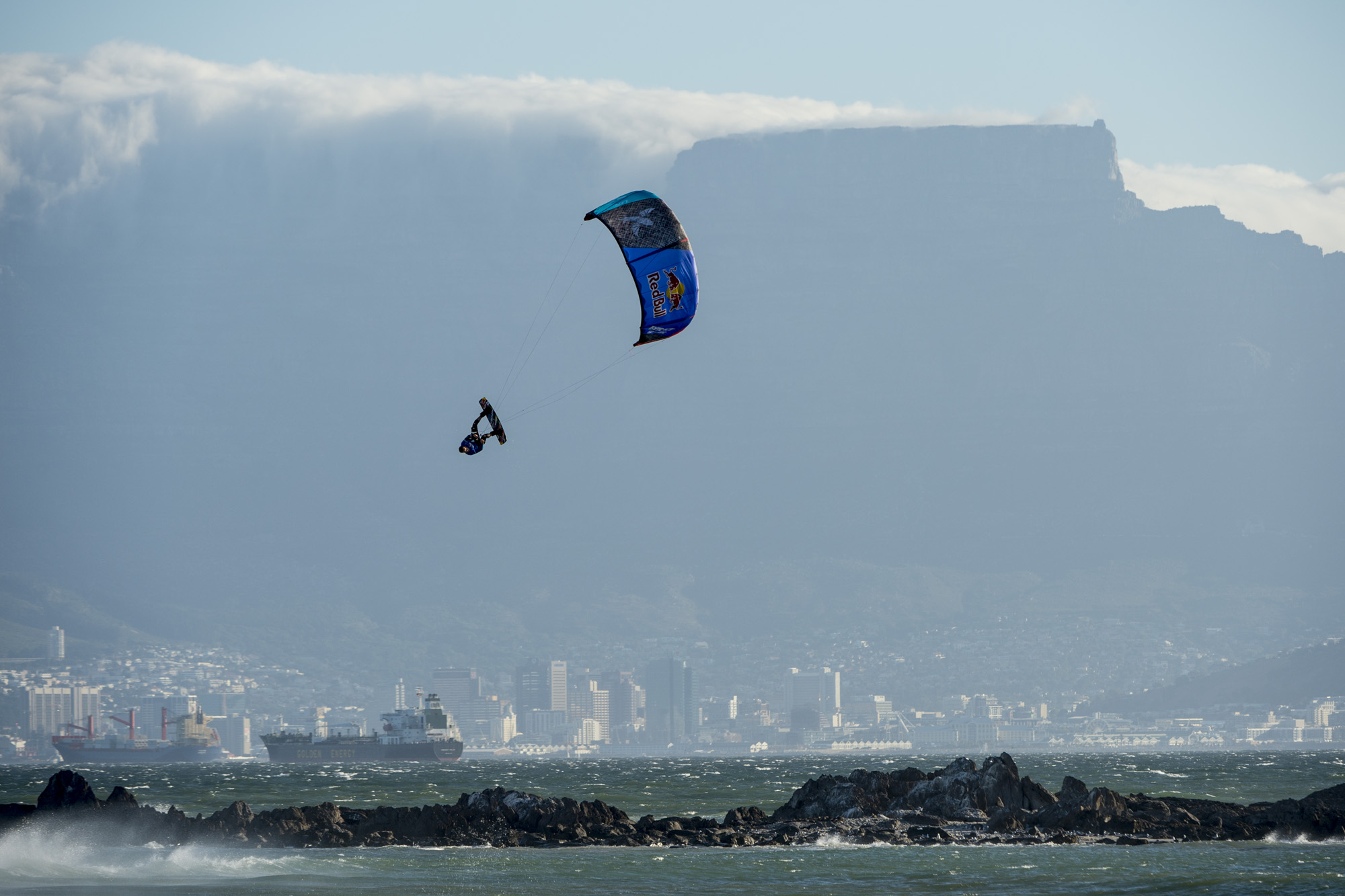 Round 1 results for the Red Bull King of the Air Kiteboarding contest