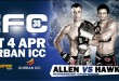 EFC 38 brings MMA action to Durban in the 4th April 2015