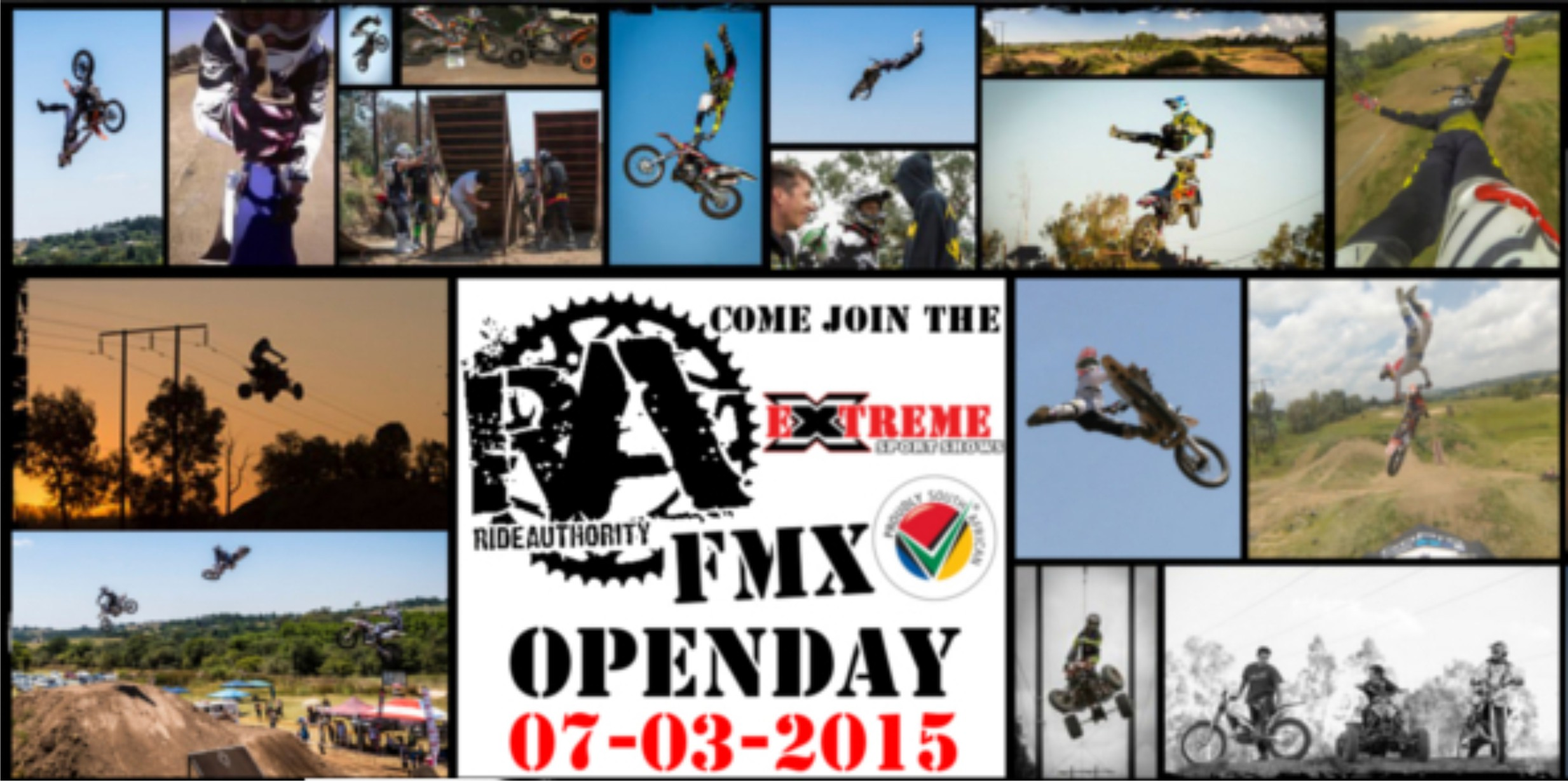 Joing the Ride Authority FMX Open Day on 7 March 2015