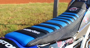 The Nithrone custom Motocross seat cover