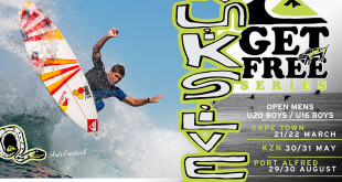 Quiksilver kick off their 3 part Get Free Series surfing event in Cape Town