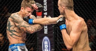 Boyd Allen defends his Featherweight belt at EFC 38