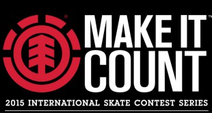 Element Make It Count 2015 International Skate Contest Series