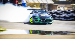 Otto Graven drifting his way to victory