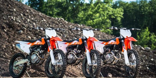 2016 KTM SX Motocross Range Unveiled
