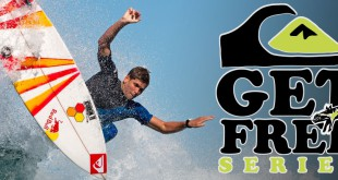 Quiksilver Get Free Series surfing contest