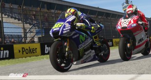 The MotoGP 15 video game is now available for Playstation 3, Playstation 4, Xbox 360, Xbox One and PC