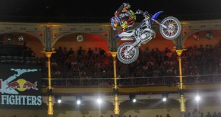 Tom Pages rides his way into the Freestyle Motocross history books