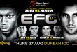 12 exciting MMA fights make their way to Durban for EFC 43