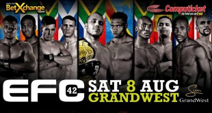 EFC42 bringing exciting MMA fights to Cape Town