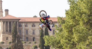 Tom Pages and the Backflip win Red Bull X-Fighters Pretoria