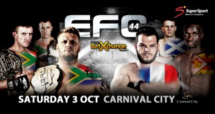 EFC 44 brings with it an exciting MMA fight card