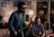 """Watch Lenny Kravitz and James Franco take each other on in the official Guitar Hero Live """"Win The Crowd"""" trailer:"""