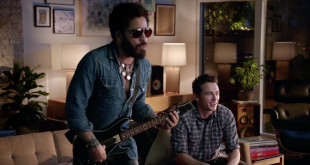 "Watch Lenny Kravitz and James Franco take each other on in the official Guitar Hero Live ""Win The Crowd"" trailer:"