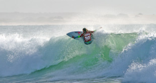 Sophie Bell dominating in her heat at the Billabong SA Junior Champs