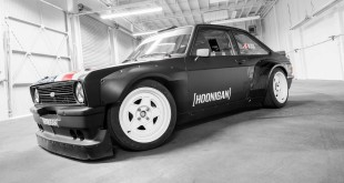 Watch Ken Block slay tyres in his new 1978 Ford Escort Mk2 RS Gymkhana machine: