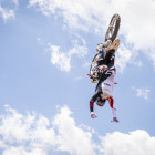 Brendan Potter throwing down a dailed Backflip No Hander