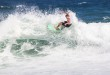 Brandon Jackson surfing his way to victory at the Off The Lip Movember Surf Jam