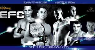 EFC 46 is upon us with a stacked MMA fight card