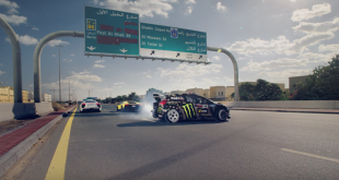 Ken Block's Gymkhana Eight is finally here. Watch Ken smoke up his Ford Fiesta RX43 in the ultimate exotic playground of Dubai: