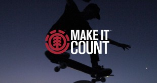 The African leg of the Element Make It Count Series takes place on the 27th April at The Shred in Cape Town.