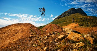 Fun with the Trail Blaze crew on the Helderberg Enduro MTB trails