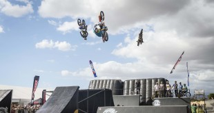 Watch the action from the Gravity Clash action sports show featuring FMX, Skate, BMX and more: