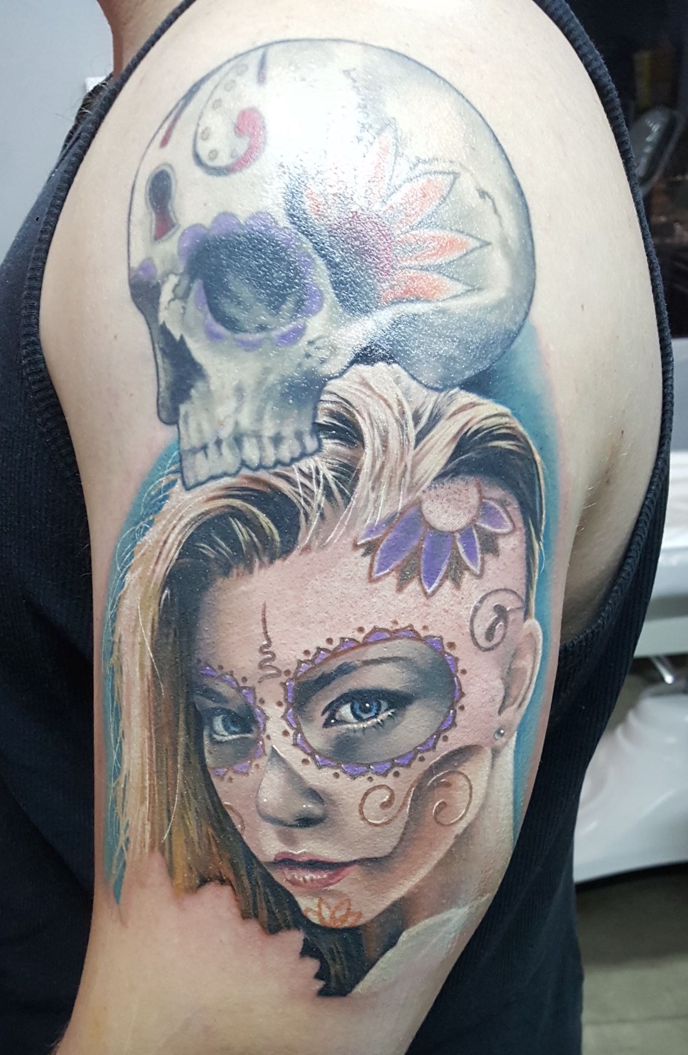 An example of Bryan Du Rand's tattoo work