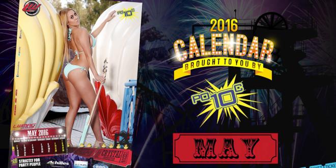 Calendar Girl May : Video miss may calendar girl crystal potgieter babes