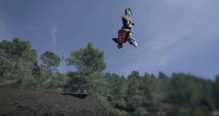 Freestyle Motocross rider, Tom Pages is at it again and has landed the seemingly impossible. The world's first Front Flair on a dirt bike