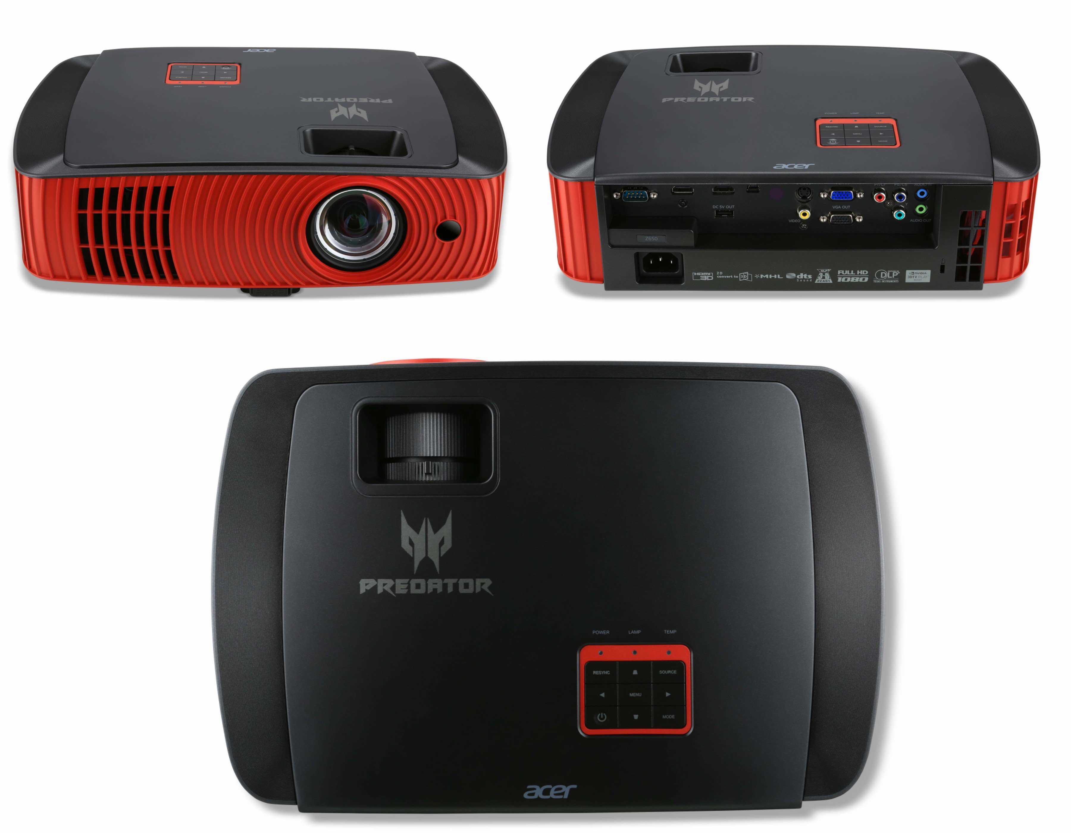Meet the Predator Z650 Gaming Projector