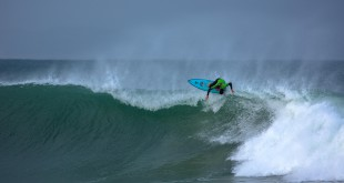 Steven Sawyer surfing his way to victory at the JBU Supertrail presented by RVCA