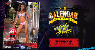 Go behind the scenes on our 2016 LW Mag Calendar shoot with our Miss June Calendar Girl, Mandy Kgobe