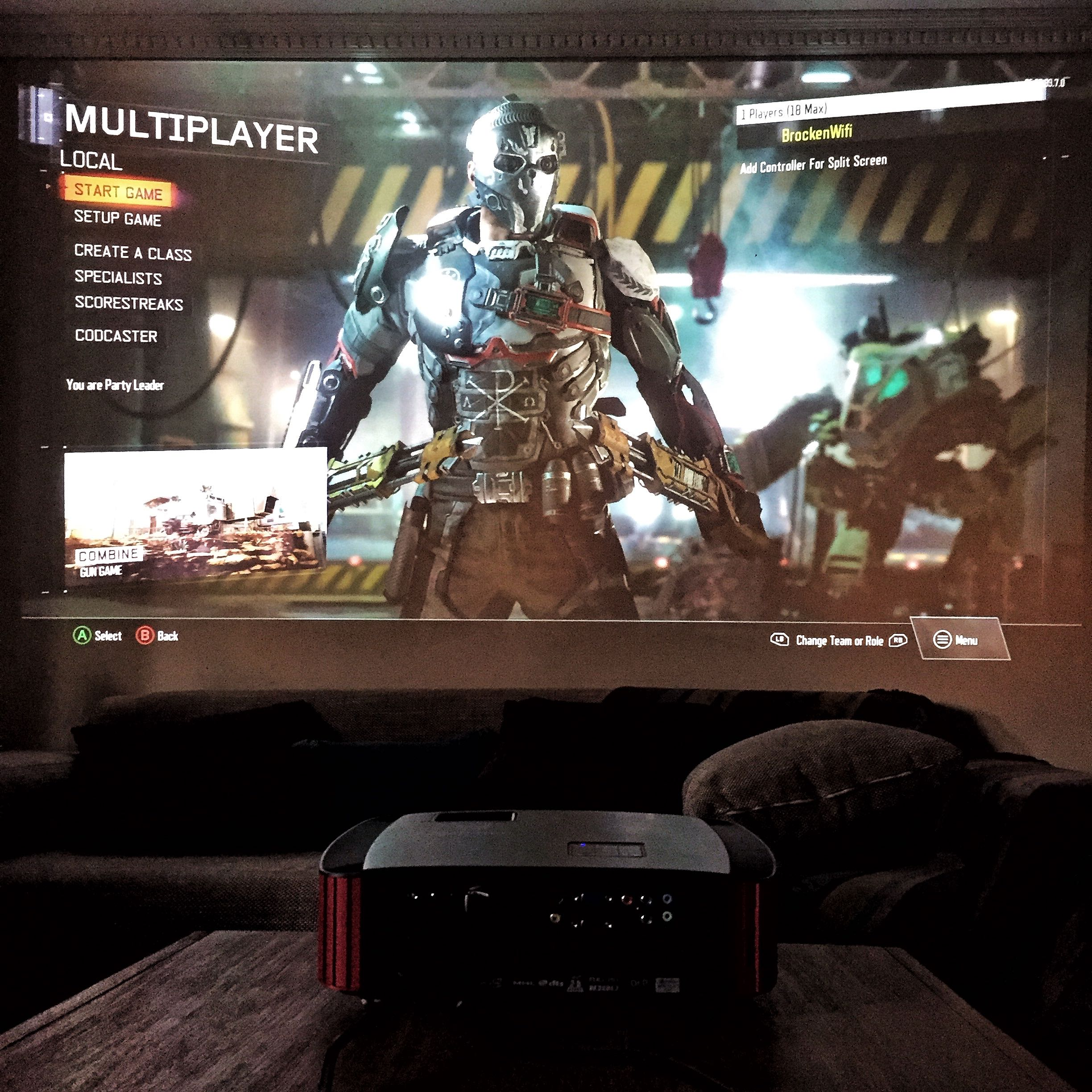 Get immersed in your gaming with the Predator Z650 Gaming Projector