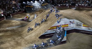 Watch Tom Pages final winning run from Red Bull X-Fighters Madrid 2016