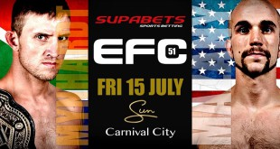 EFC 51 set to bring 11 exciting MMA fights to Carnival City