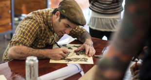 Photos from the 2933 Classic Tattoos shop reopening