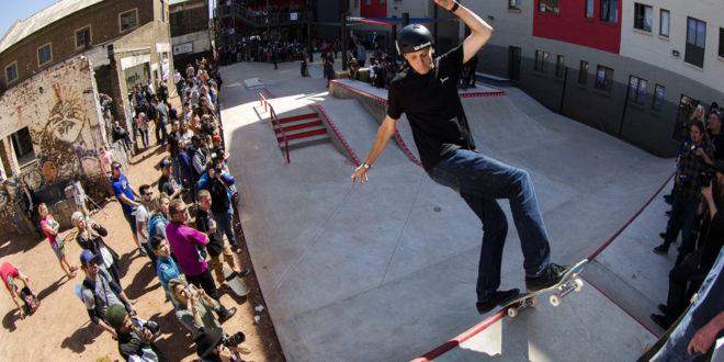 Tony Hawk in South Africa | Skateistan