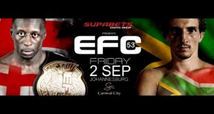 EFC 53 set to bring 11 exciting MMA bouts to Carnival City