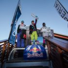 Open Men podium at Xperia Winter Whip 2016