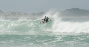 James Ribbing surfing his way to the Billabong Junior Series final