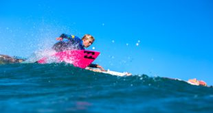 Max Elkington surfing his way to the Billabong Junior Series final
