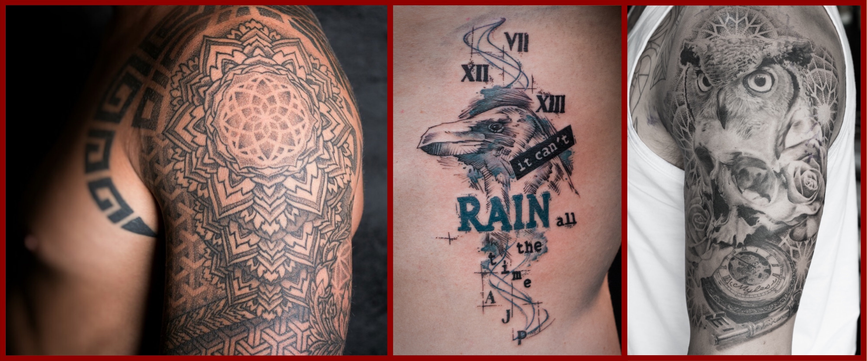Tattoos by Sean Perrins