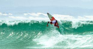 Joshe Faulkner surfing his way through the 2016 billabong SA Junior Champs