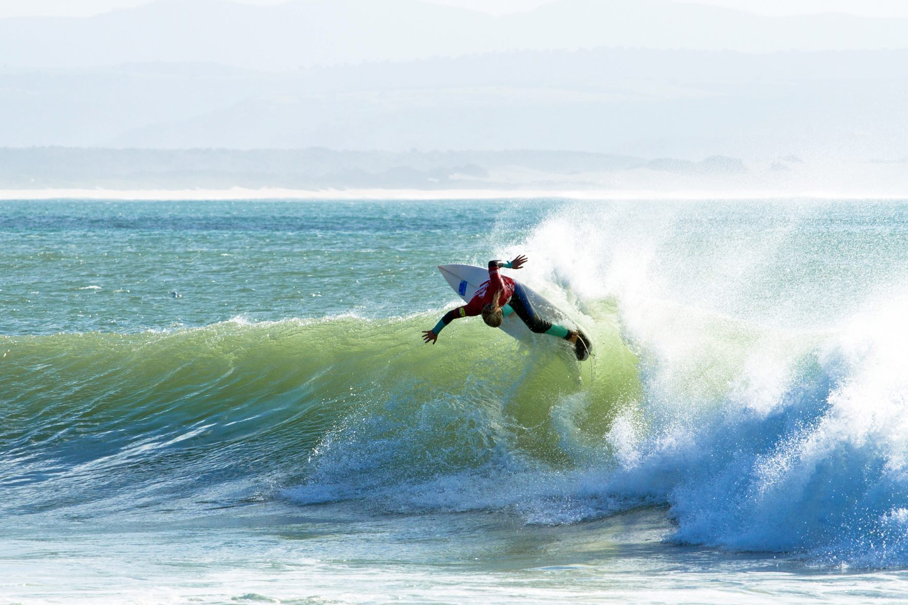 Kai Woolf Surfing in the Billabong SA Junior Champs