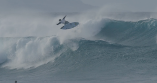 Albee Layer lands the first Backside Double Spin in surfing