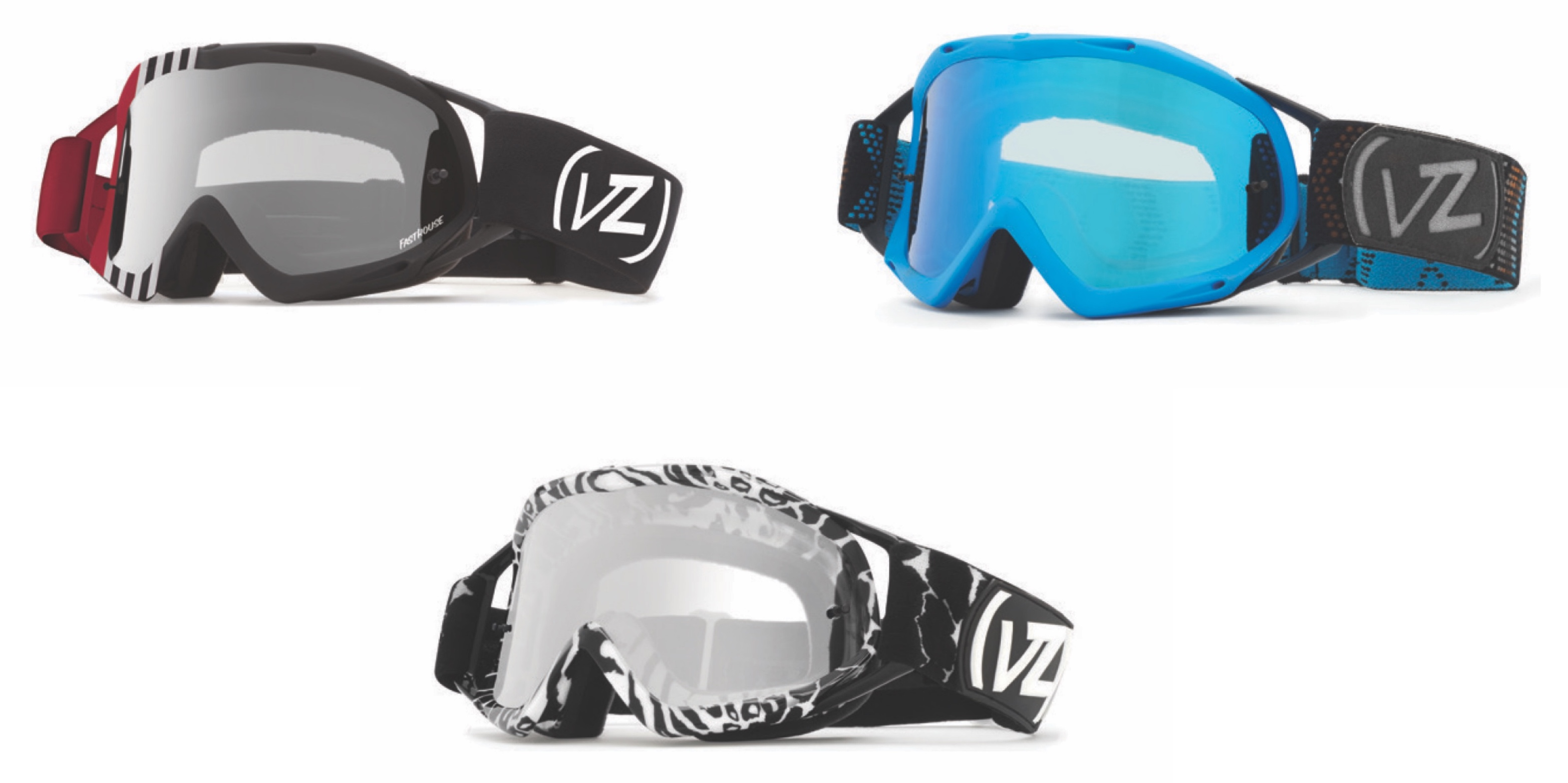 2017 VonZipper Bushwick Moto Goggles